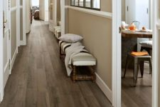 29 porcelain plank tile with a classic hardwood look