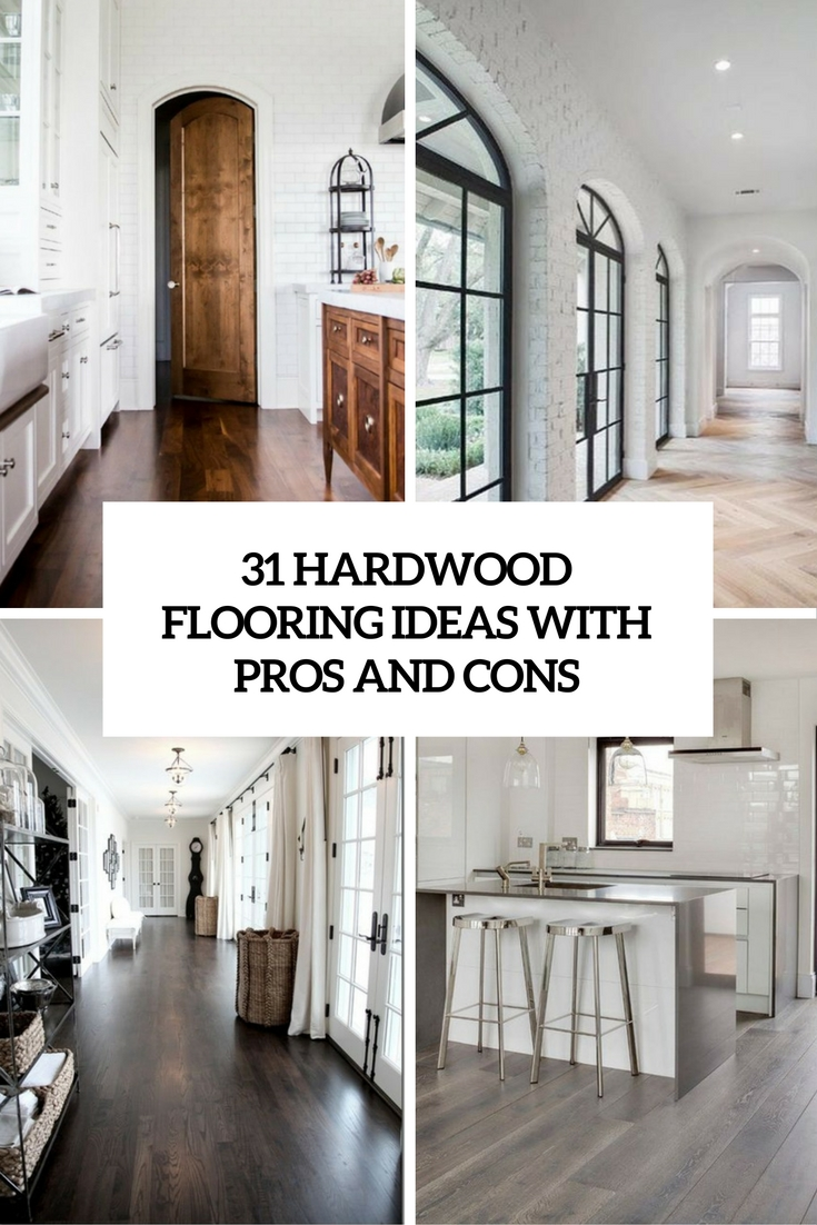 hardwood flooring ideas with pros and cons cover