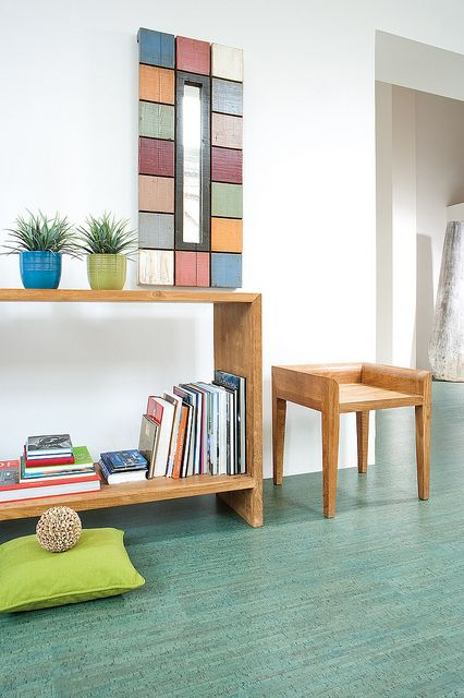 colorful cork can complement almost any nursery design