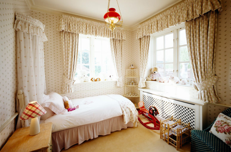 when you have a princess room, hiding radiators is a necessity