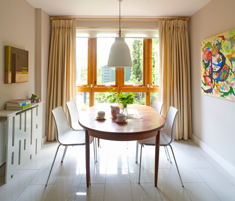 contemporary geometric screen works well for modern interiors (Think Contemporary)