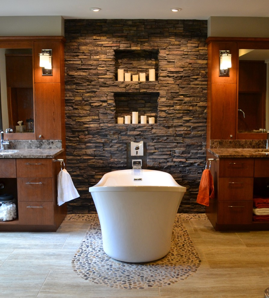 stone accent wall ideas