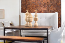 wood accent walls