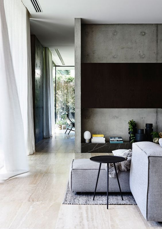 Calm And Peaceful Urban Oasis With Masculine Interiors