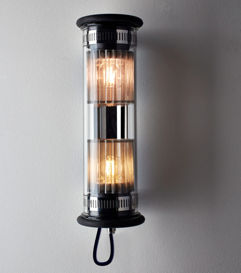 Industrial 'In The Tube' Lamp Collection For Outdoors And Indoors