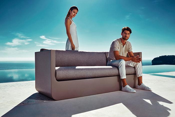 ULM outdoor furniture collection by Vondom strikes with stunning modern design