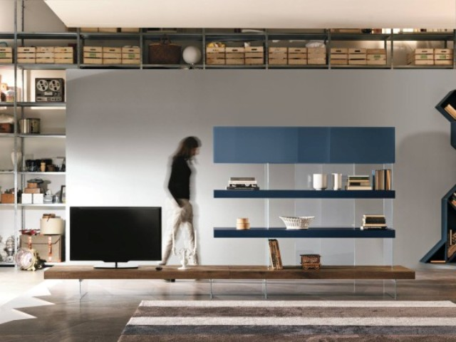 Air Storage combines drawers with Air Shelves, it's not as heavy as a traditional bookcase