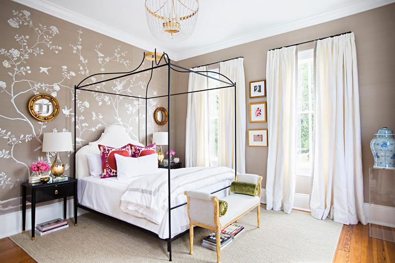 Picture of unique wallpaper bedroom design - Unusual wallpaper for bedrooms ...