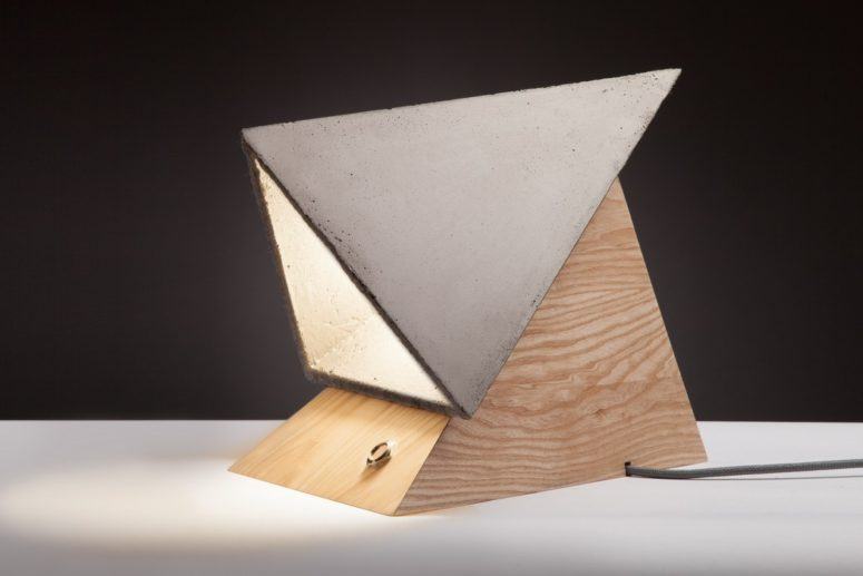 The Monk Lamp has an architectural look and a strong character, it has personality