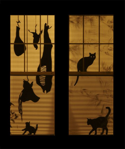 Halloween Window Decorations: 26 Creative Halloween Window Decor Ideas