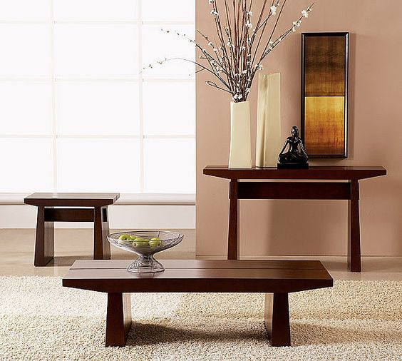 Bring asian flavor to your home 36 eye catchy ideas for Modern end table ideas