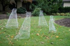 05 chicken wire ghosts will look scarily real in the dark