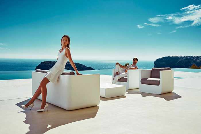 Vondom creates its own functional resins and uses them for making each collection like no other