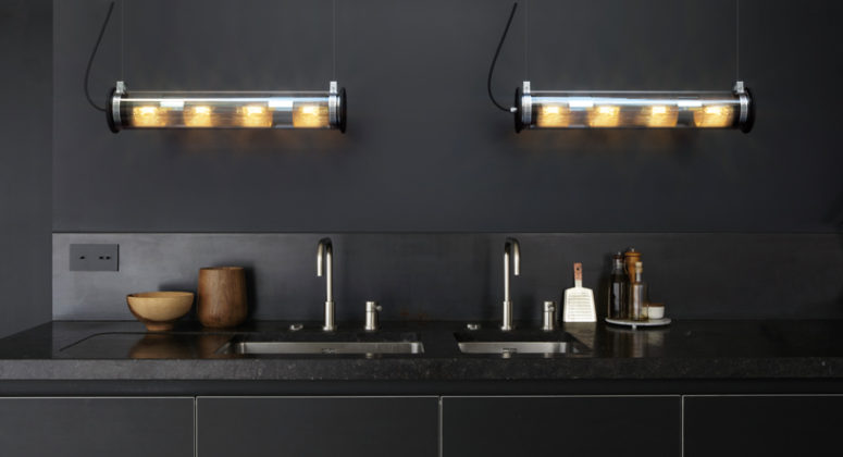 Use these lamps in the kitchen to enlighten the dark corners