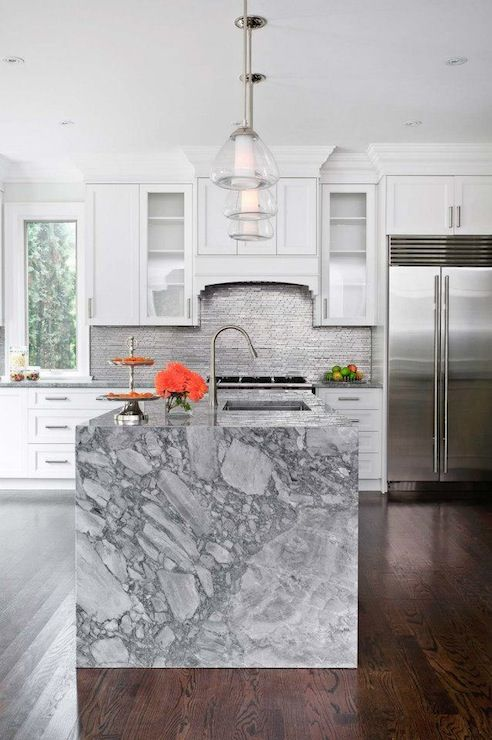 marble is not only scratch-resistant but also catches an eye with its cool pattern