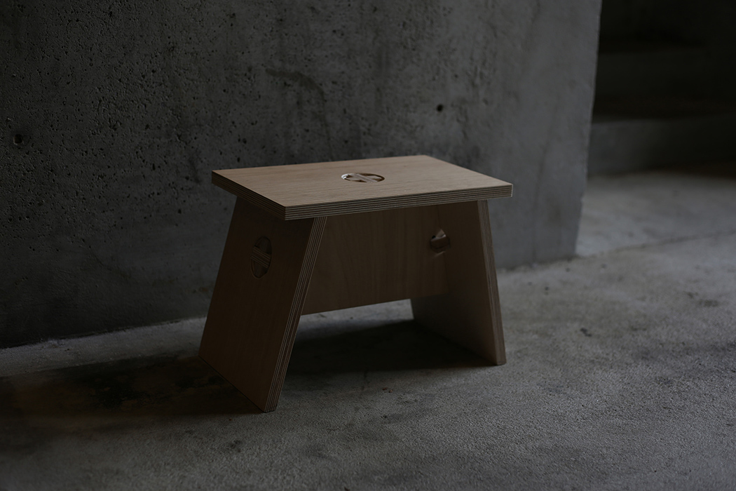 Such a stool will be useful in your entryway, closet, bathroom