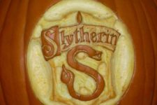 16 Slytherin pumpkin carving