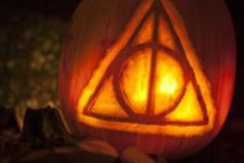 17 The Deathly Hallows symbol from the Harry Potter series