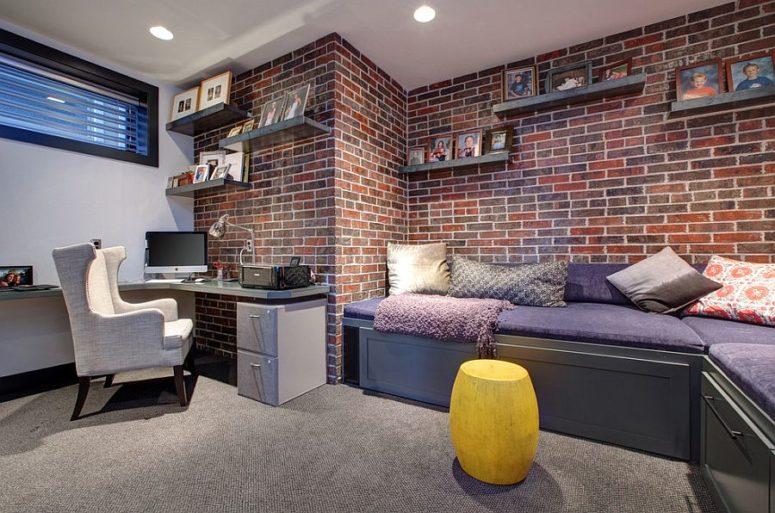 Brick Veneer Is A Great Idea When You Donut Have Exposed Brick Walls With Brick  Facade Interior Wall