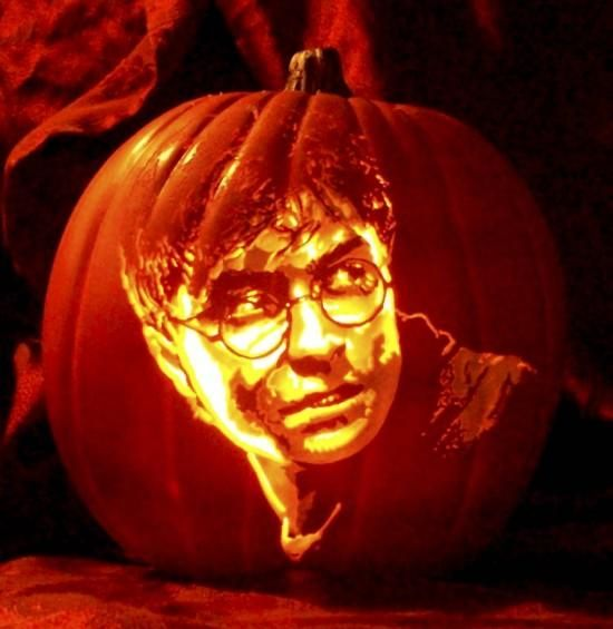 47 awesome movie pumpkin decor and carving ideas digsdigs for Harry potter pumpkin carving templates