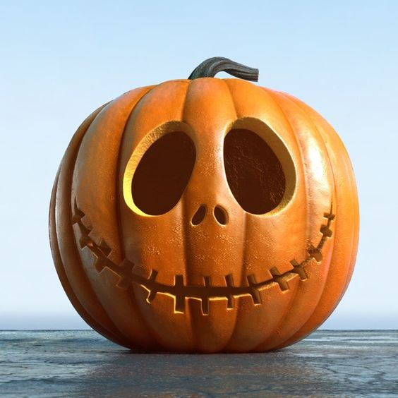 modern take on a classic jack-o-lantern