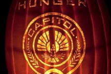 23 Hunger Games pumpkin decor