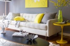 24 neon yellow touches are ideal to raise your mood and remind of the summer