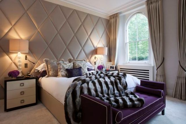 upholstered panels make any room more welcoming, cozier and comfier
