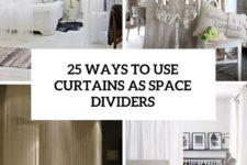 25 ways to use curtains as space dividers cover
