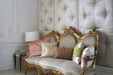26 upholstered walls are great for sound proofing a room and look chic