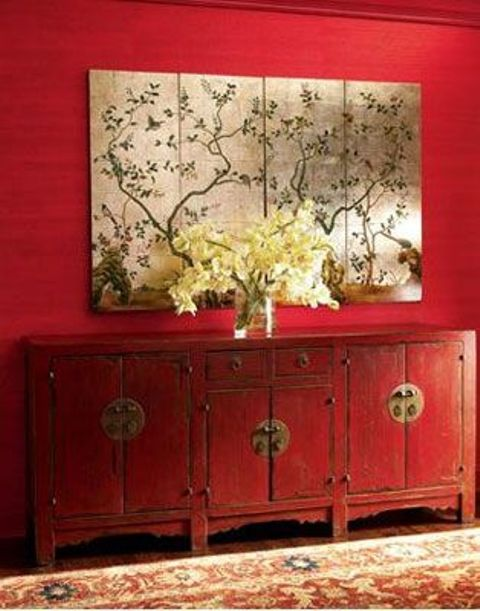 Bring asian flavor to your home 36 eye catchy ideas for Asian wallpaper mural