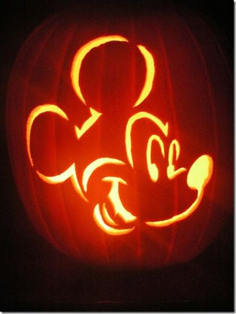 Mickey Mouse lantern for kids' parties