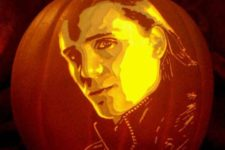 30 Tom Hiddleston as Loki carving