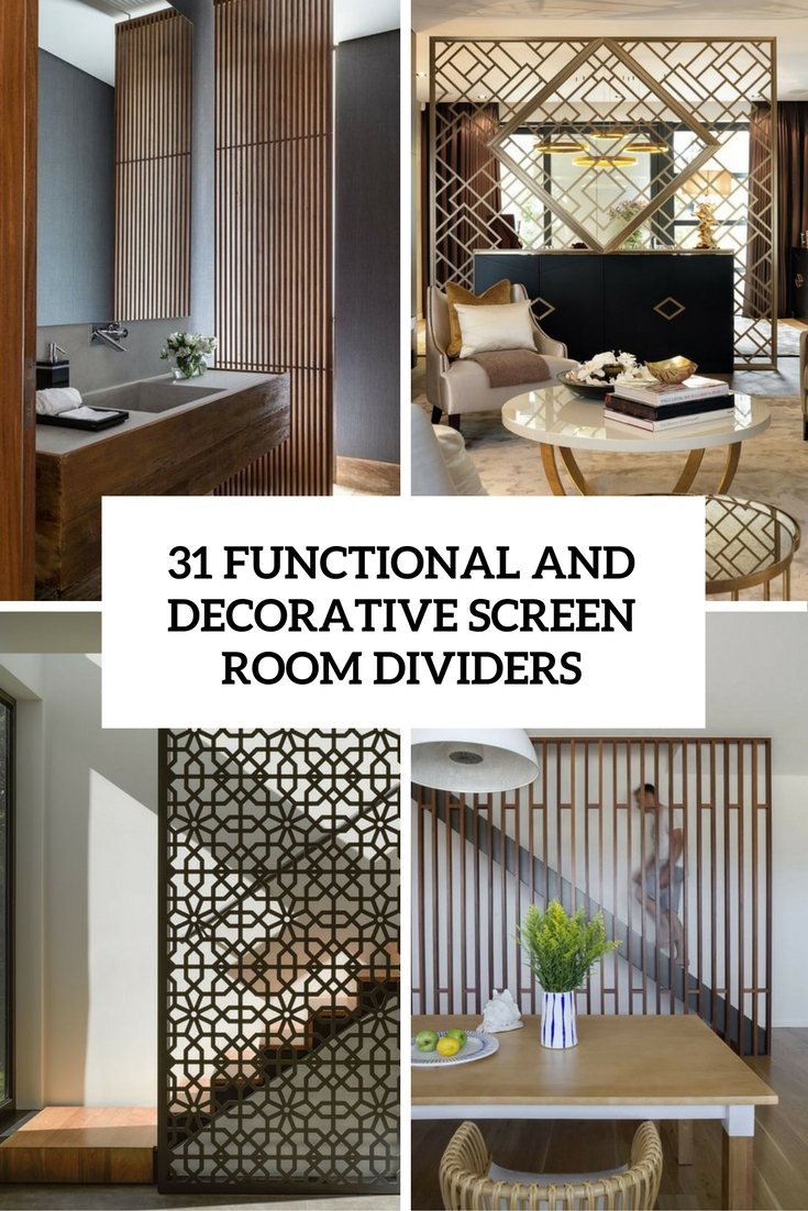 functional and decorative screen room dividers cover