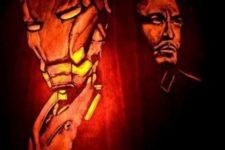32 Iron Man pumpkin carving