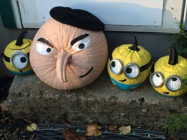 minions pumpkins will make your kids happy