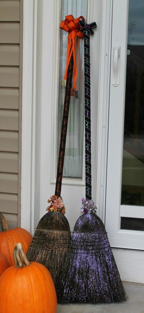 Witches Brooms For Your Entry