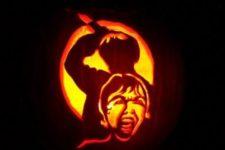 35 Psycho movie pumpkin carving