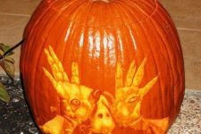 36 Pan's Labyrinth pumpkin carving