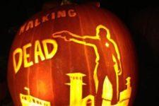 40 Walking Dead scene carving