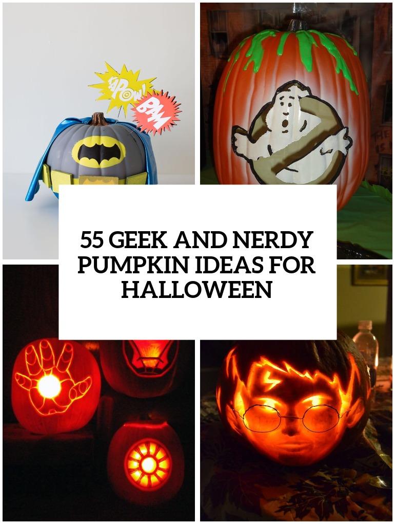 42 Geek And Nerdy Pumpkin Ideas For Halloween