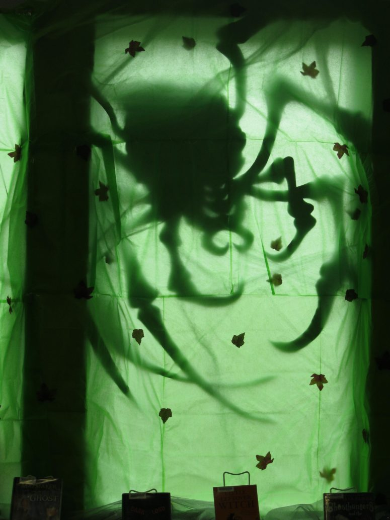 a creepy spider might look even too scary