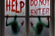 halloween window decor ideas