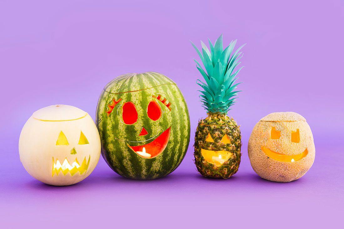 tropical halloween ideas