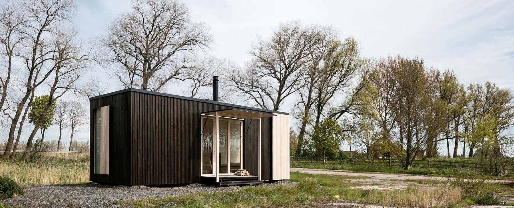 ARK shelter is a sustainable, mobile prefab home for any location, and it's cost effective