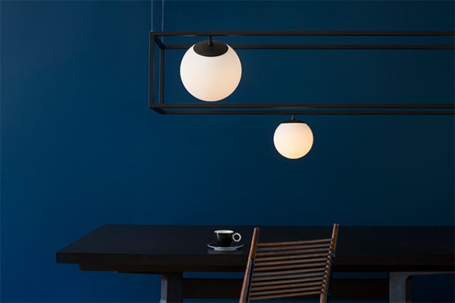 Witt Suspension Lamps Collection With Metal Cubes