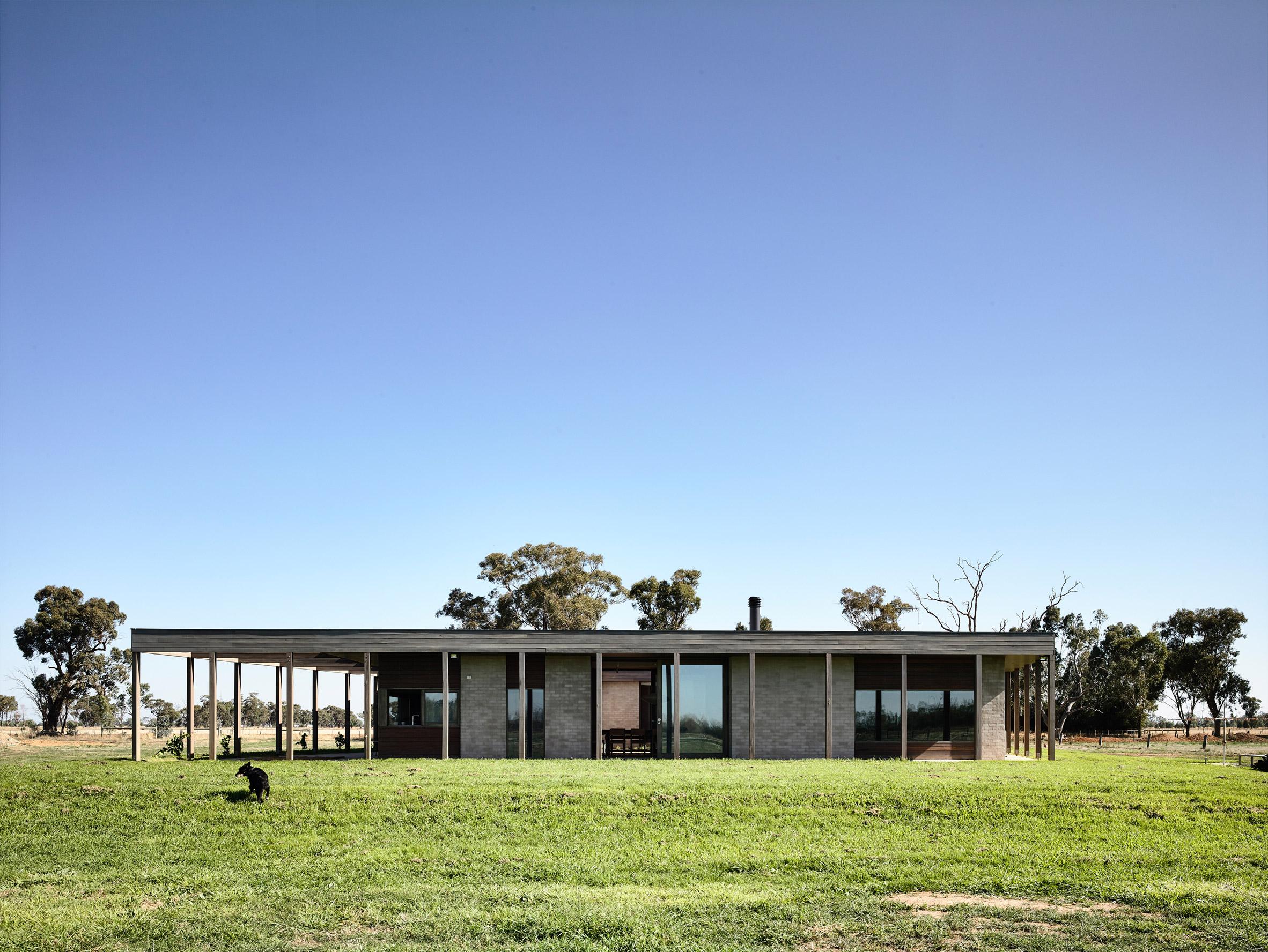 It's located in a farm district in the north of Australia