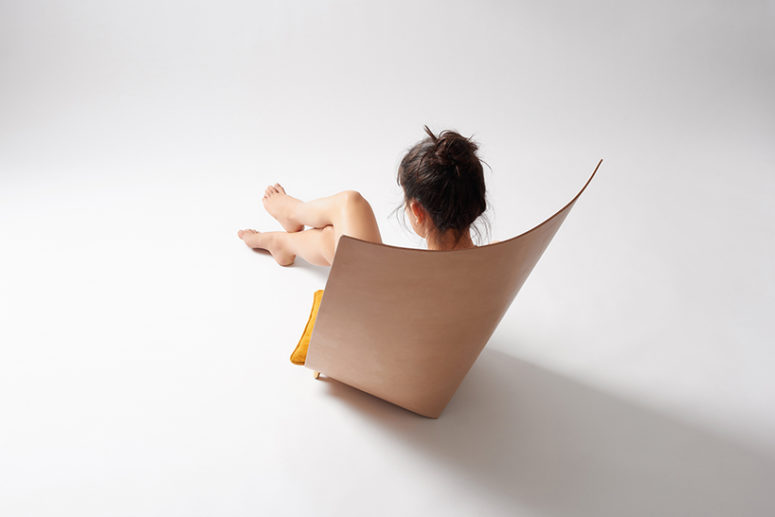 Such a chair is a shelter, it is great for privacy