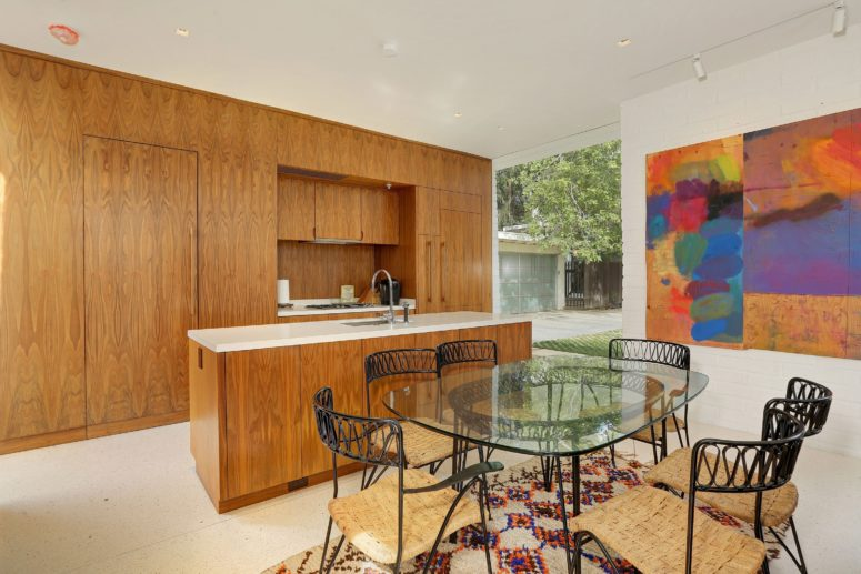 The Interiors Really Show What Mid Century Modern Is, They Are Full Of Bold