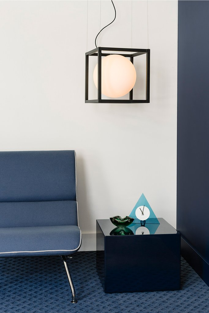 This lamp can be hung in the corners or over the table or other furniture